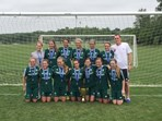 U15 Girls Champions - PAO FC Green